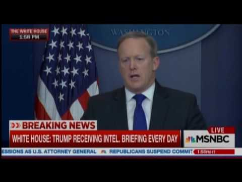 Sean Spicer Has No Answers On Frederick Douglass