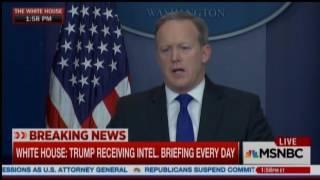 Sean Spicer Has No Answers On Frederick Douglass thumbnail
