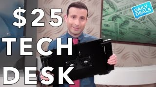 Top $25 Adjustable Desk For Laptops And Tech ► The Deal Guy