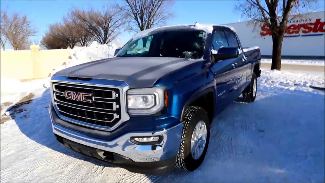 Stone Blue Metallic 2017 Gmc Sierra 1500 Sle For In Medicine Hat Ab