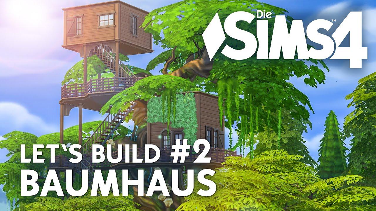 Die sims 4 let 39 s build baumhaus 2 haus weiter bauen for Sims 4 dach bauen