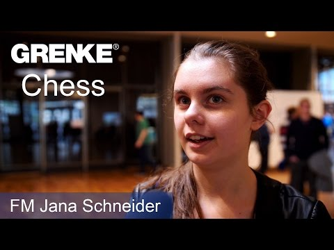 FM Jana Schneider | Interview with the German Champion at the GRENKE Chess Open 2017