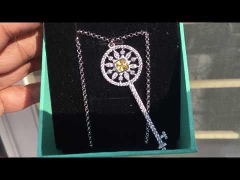 Tiffany Yellow Sunflower Star Pendant Replica!