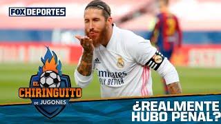 ¿Hay o no penal sobre Sergio Ramos?: El Chiringuito