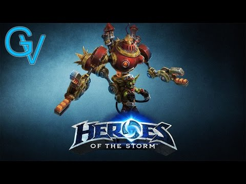 Heroes of the Storm - Gazlowe Merc Lord Build