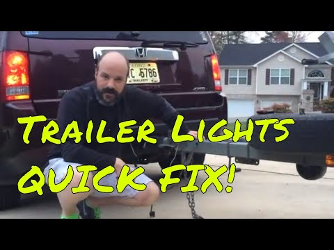 Boat Trailer Lights Not Working?  Quick FIX!