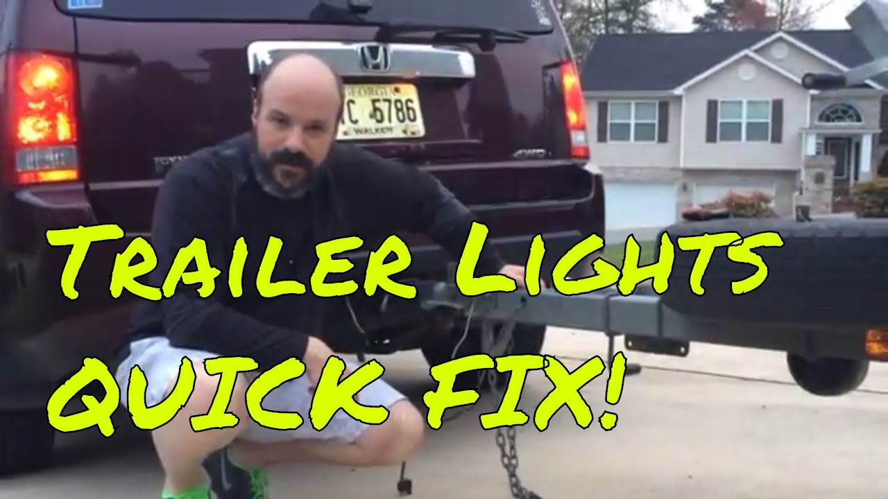 Boat Trailer Lights Not Working? Quick FIX! - YouTube