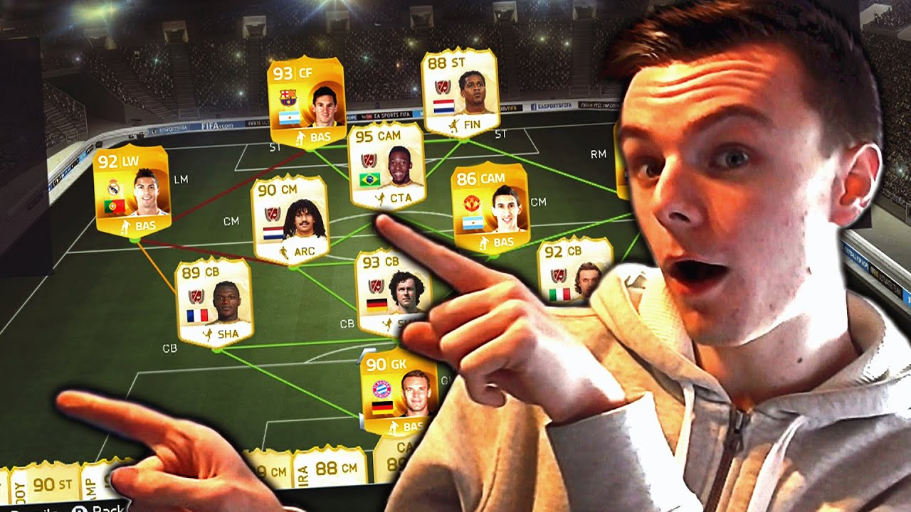 The best team ever fifa 15 ultimate team youtube