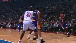 Nick Van Exel Spoils Grant Hill