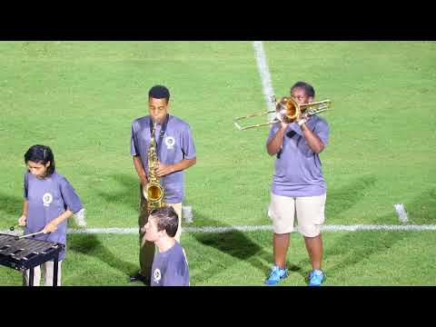 Charles Henderson High School Marching Band, August 31, 2018 (Troy, Alabama)