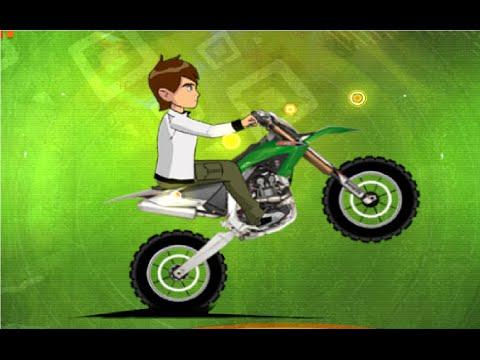 Juego de motos para niños - Juego Ben 10 Stunt Ride