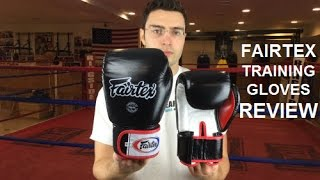 Fairtex Muay Thai Boxing Gloves Review by ratethisgear