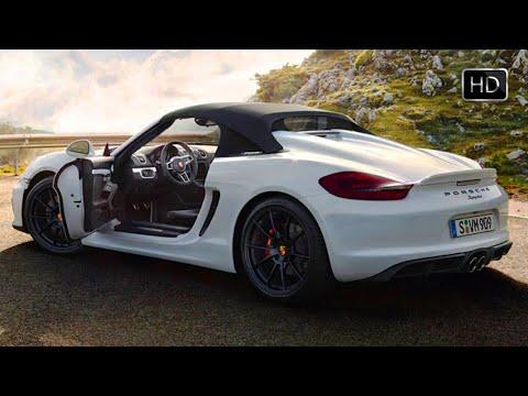 2016 Porsche Boxster Spyder Launch Trailer (Design) HD