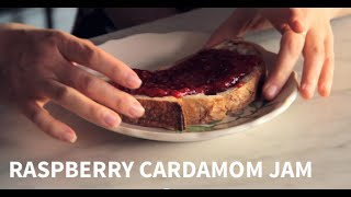 homemade raspberry cardamom jam with sqirl chef jessica koslow   farm to table family   pbs parents