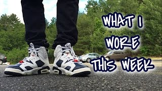 what sneakers i wore this week