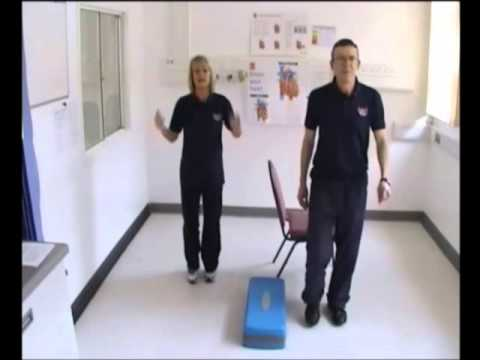 Cardiac rehabilitation exercise video - from the Cardiac Rehab Team