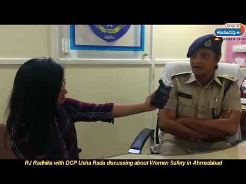 DCP Usha Rada has a message for Ahmedabad Females & Their Safety