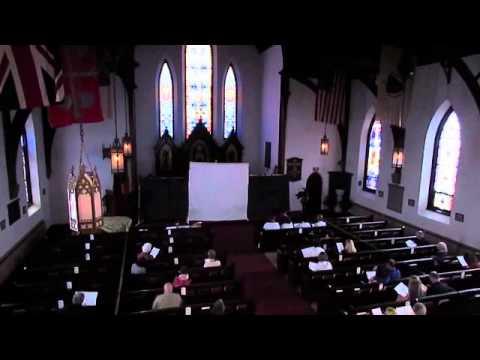 Palm Sunday at Saint James Episcopal Church in Greenfield, Massachusetts