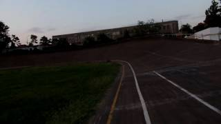 One lap of a velodrome Dinamo Bucharest revisited