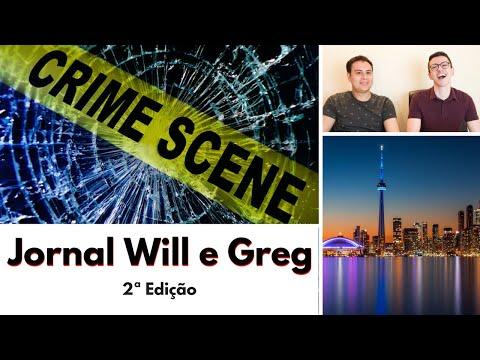 CIDADES MAIS VIOLENTAS DO CANADÁ e AUMENTO DO SALÁRIO MÍNIMO | Jornal Will e Greg | 2ª Edição