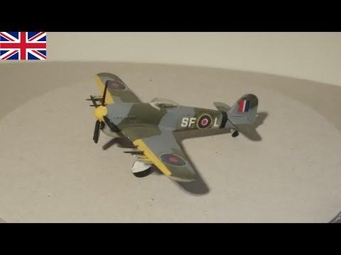 Hawker Typhoon - Royal Air Force - 1:144 Modell