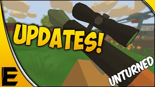 Unturned 3.0 Update ➤ Rocket Launcher, Rockets & Hunting!