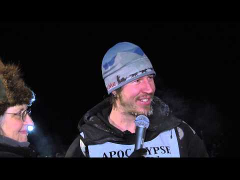 2015 YUKON QUEST WINNER BRENT SASS POST RACE PRESS CONFERENCE