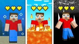 Minecraft But DYING Iṡ Literally IMPOSSIBLE!