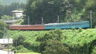 さよなら秩父鉄道1000系 スカイブルー+オレンジ 6両編成 【Chichibu railway】
