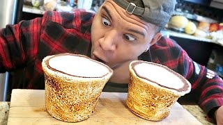 DIY GIANT MARSHMALLOW SHOT GLASSES TASTE TEST!!