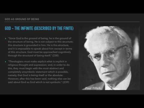 Tillich -  God as Ground of Being