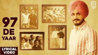 97 De Yaar (Lyrical Video) | Kulwinder Billa | The Boss | Latest Punjabi songs 2020