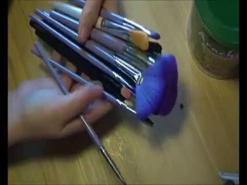 Porta pennelli fai da te eco d riciclo creativo youtube - Porta pennelli fai da te ...