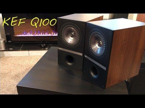 Z Review - KEF Q100 {Coaxial Sex Monitors}