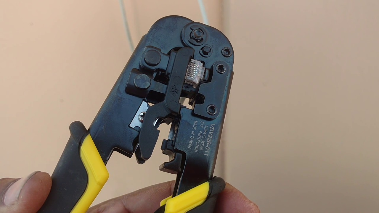 How To Install The Flir Camera Waterproof Cat5 Connector Votd Cat 5 Wiring Diagram For