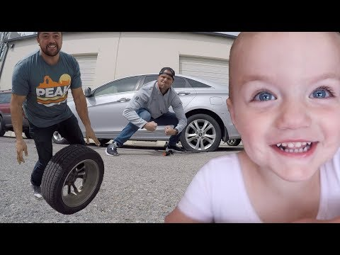 🤔 GROWN MAN STRUGGLES TO CHANGE A FLAT TIRE... AGAIN! 🤯