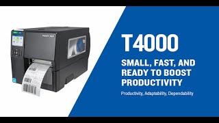 Printronix Auto ID T4000 Compact Thermal Barcode Printer