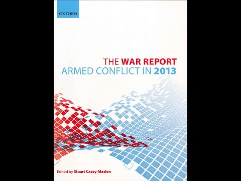 The War Report 2013