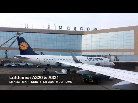 Lufthansa A320/A321 | Milan MXP ✈ Moscow DME via Munich | Full HD Trip Report