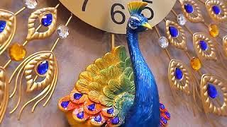 공작 시계 벽시계 거실 아이디어 유럽식 시계 개성 장식…