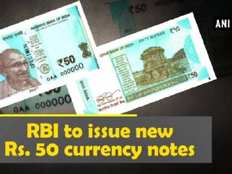 RBI to issue new Rs. 50 currency notes - Delhi News