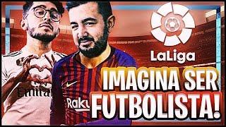 IMAGINA SER JUGADOR DE FUTBOL PROFESIONAL ft. Spursito.