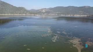 Vídeo aéreo en el Pantano de San Juan (Madrid)