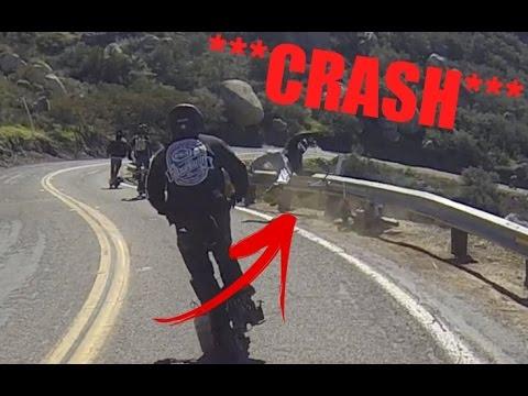 "GoPed ""HARD CRASH!"" San Diego Ride 2017"