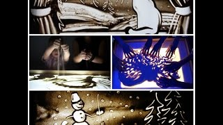 Экран для рисунков из песка.Песочная анимация Мастер-класс. Light screen for drawing in the sand