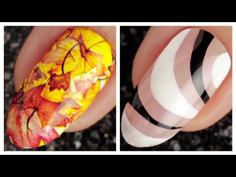 Simple Nail Art Design 2019 ❤️💅 Compilation   Ten New Simple Nails Art Ideas Compilation #133 thumbnail