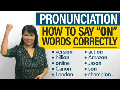 English Pronunciation: 1 Small Change, 100s of Corrections!