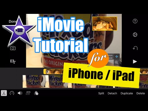 IMovie For IPhone Tutorial - Split Screen Video