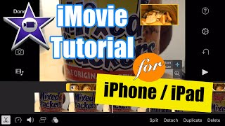 iMovie for iPhone Tutorial - Split Screen Video