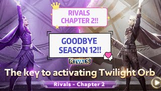 MOBILE LEGENDS! RIVALS EVENT! GOODBYE SEASON 12!!